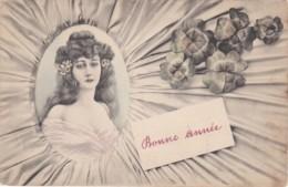 """Art Nouveau """"bonne Année"""" 1905 (lot Pat 33) - Illustrateurs & Photographes"""