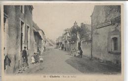 CPA - CHABRIS - RUE DE SELLES - Other Municipalities