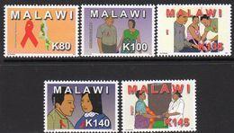 Malawi 2012 Campaign Against AIDS Set Of 5, MNH, SG 1080/4 (BA2) - Malawi (1964-...)
