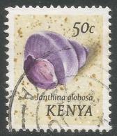 Kenya. 1971 Sea Shells. 50c Used Inscr Janhina Globosa. SG 42 - Kenya (1963-...)