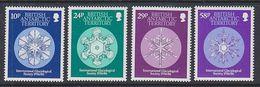 British Antarctic Territory 1986  International Glaciological Society 4v  ** Mnh (41643) - Brits Antarctisch Territorium  (BAT)