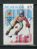 NICARAGUA- Y&T N°1317- Oblitéré (ski) - Nicaragua