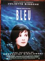 3 AFF CINE ORIG TRILOGIE DE KIESLOWSKI 40X60 3 COULEURS: BLEU BLANC ROUGE (ANNEES 90) - Posters
