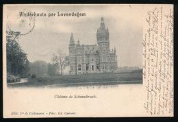 VINDERHAUTE PAR LOVENDEGEM  - CHATEAU DE SCHOUWBROECK - Lovendegem