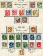 10641 SUISSE  Collection Vendu Par Page °  1882-1904  TB - Suisse