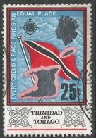 Trinidad & Tobago. 1969 Definitives. 25c Used. SG 348 - Trinidad & Tobago (1962-...)