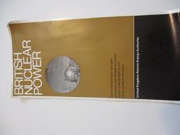 Dépliant D'Information/ BRITISH NUCLEAR POWER/United Kingdom Atomic Energy Authority/Montréal Expo67/1966    DT63 - Tourism Brochures