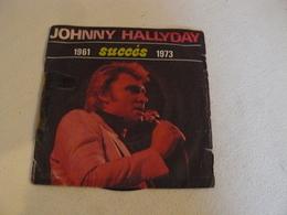 6831 977 Johnny Hallyday, Succés 1961/1973 . Specimen Hors Commerce. - Rock