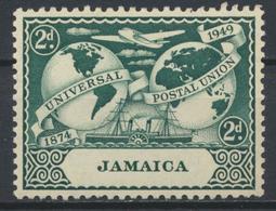 °°° GIAMAICA JAMAICA - Y&T N°150 MLH - 1949 °°° - Giamaica (1962-...)