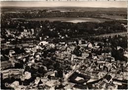 BRUNOY (91) Vue Générale Aérienne - Rare - Belle Carte Postée Le 12 Juin 1958 - Brunoy
