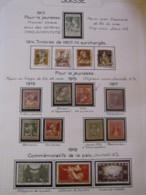 10644 SUISSE  Collection Vendu Par Page */°   1910-22  TB - Suisse
