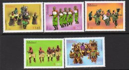 Malawi 2013 Traditional Dances Set Of 5, MNH, SG 1085/9 (BA2) - Malawi (1964-...)