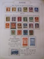 10646 SUISSE  Collection Vendu Par Page */°   1921-28  TB - Suisse