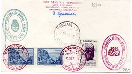 ARGENTINE 1961  / Superbe Envellope 1er Jour MNH Vente Départ 9.99 Euros - Philatélie Polaire