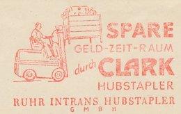 Meter Cut Germany 1954 Forklift - Transportmiddelen