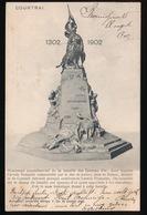 KORTRIJK   MONUMENT COMMEMORATIF DE LA BATILLE DES ESPERONS D'OR - Kortrijk