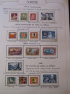 10647 SUISSE  Collection Vendu Par Page */° Pour La Jeunesse  1927-30  TB - Suisse
