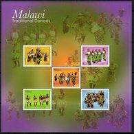 Malawi 2013 Traditional Dances MS, MNH, SG 1090 (BA2) - Malawi (1964-...)