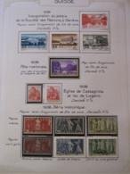 10652 SUISSE  Collection Vendu Par Page */°   1938  TB/TTB - Suisse