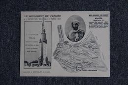PARIS - Exposition Coloniale 1931 - Le Monument De L'Armée  : Savorgnan De Brazza, Officier De Marine - Expositions