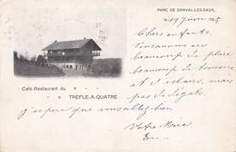 119 Genval Les Eaux Cafe Restaurant Trefle A Quatre - Belgien