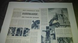 1957 - HET STADHUIS VAN OUDENAARDE - Publicaties Uit Zondagsvriend ; Weekblad / TOP - Vieux Papiers