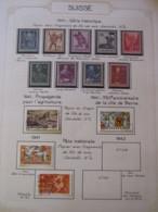 10656 SUISSE  Collection Vendu Par Page */°  1941  TB/TTB - Suisse