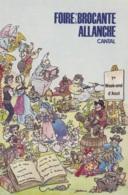 Allanche 15 - Foire Brocante - Allanche
