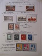 10657 SUISSE  Collection Vendu Par Page */°  1942-44  TB/TTB - Suisse