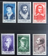 1956 - Célébrités N°1066 à 1071* - France