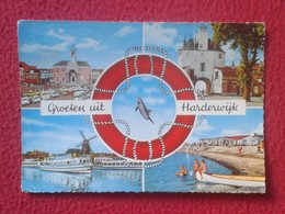POSTAL POST CARD CARTE POSTALE HOLANDA HOLLAND PAISES BAJOS NETHERLANDS HARDERWIJK VER FOTOS. CIRCULADA SIN SELLO.VISTAS - Harderwijk