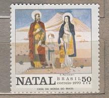 BRAZIL 1970 Christmas MNH MI 1274  #23627 - Unused Stamps