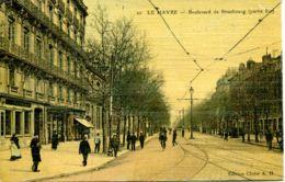 N°68766 -cpa Le Havre -boulevard De Strasbourg- - Le Havre