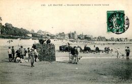 N°68773 -cpa Le Havre -boulevard Maritime à Marée Basse- - Le Havre