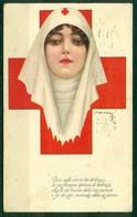 CARTOLINA - CV2180 CROCE ROSSA 1917 Cartolina Edita Dal Comitato Propaganda Croce Rossa, Ill. Nanni, FP, Viaggiata 1917 - Croce Rossa