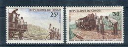 Congo 1970. Yvert 261-62 ** MNH. - Congo - Brazzaville