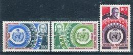 Congo 1970. Yvert 265-67 ** MNH. - Congo - Brazzaville