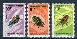 Congo 1970. Yvert 272-74 Fauna ** MNH. - Congo - Brazzaville