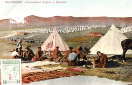 SALONIQUE. -  Campement Anglais à Zeïtenlik - Guerre 1914-18