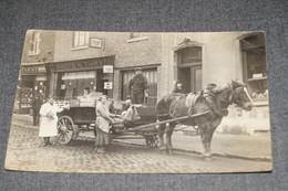 Région D'Esneux,commerçant Ambulant,belle Carte Photo Originale,collection,RARE,collector,ancienne Carte Postale - Esneux