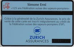 SWITZERLAND - PHONE CARD - °TAXCARD SUISSE  ***  LES POMPIERS / 1- Fr  *** - Schweiz