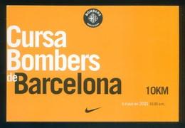 Runing. *Cursa De Bombers De Barcelona 2001* Ed. Ajuntament. Circulada. - Postales