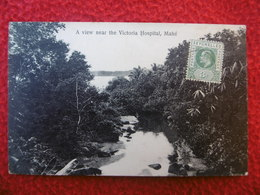SEYCHELLES A VIEW NEAR THE VICTORIA HOSPITAL MAHE TIMBRE BRITISH COLONY - Seychelles