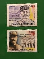 (2018) - Emission Commune France-Roumanie, Général Berthelot - Neufs