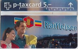SWITZERLAND - PHONE CARD - °TAXCARD SUISSE  ***  BANQUE RAIFFEISEN / 1 *** - Schweiz