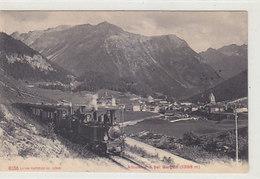 Dampf-Albulabahn Bei Bergün - 1911   (90107) - Trains