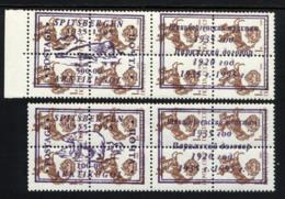 SPITSBERGEN 1995, 2 Valeurs + Vignettes, Timbres URSS Cavalier Surchargés, SU Overprinted. R385 - Non Classés