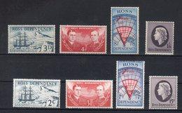 Terre De Ross 1957/1967 Yvert.1/4-5/8 **MNH / VF - Ross Dependency (New Zealand)