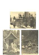Carte Postale Petits Métiers Repro 3 Cartes Orgue De Barbarie-batteur De Faulx-tondeurs De Moutons  3cartes 1,50 Euro - Marchands Ambulants