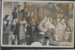Camp De Concentration Stalag XB - Carte-photo Theâtre - Rare - Oorlog 1914-18